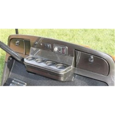 EZGO TXT Golf Cart Custom Dash - Carbon Fiber by Parts Direct