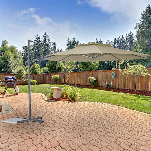 Garden Winds Replacement Canopy For Bhg 11ft Solar Offset