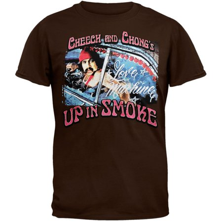 Cheech And Chong - Retro T-Shirt (Cheech Mustache)