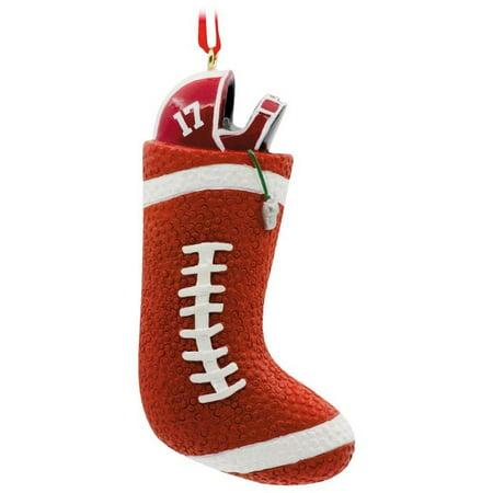 Football Stocking 2017 Hallmark Ornament](Football Ornaments)