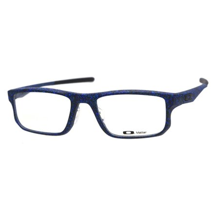 3492fd5228 Oakley OX8066-0453 Men s Voltage Navy Frame Clear Lens Eyeglasses NWT -  Walmart.com