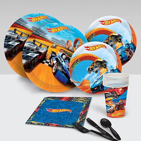 Hot Wheels Wild Racer Party Pack - Hot Wheels Birthday Party Ideas
