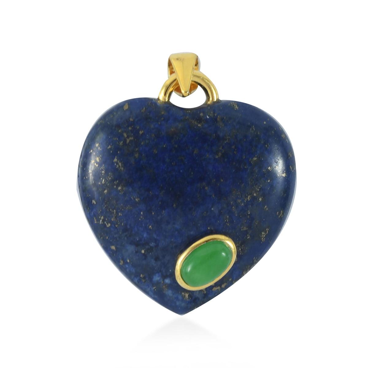 Mini Lapis Heart Lapis Lazuli Heart Gemstone Heart Pocket Lapis Heart
