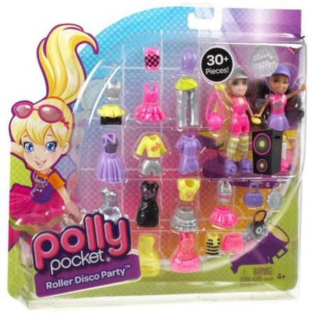 Polly Pocket Roller Disco Party Play Set