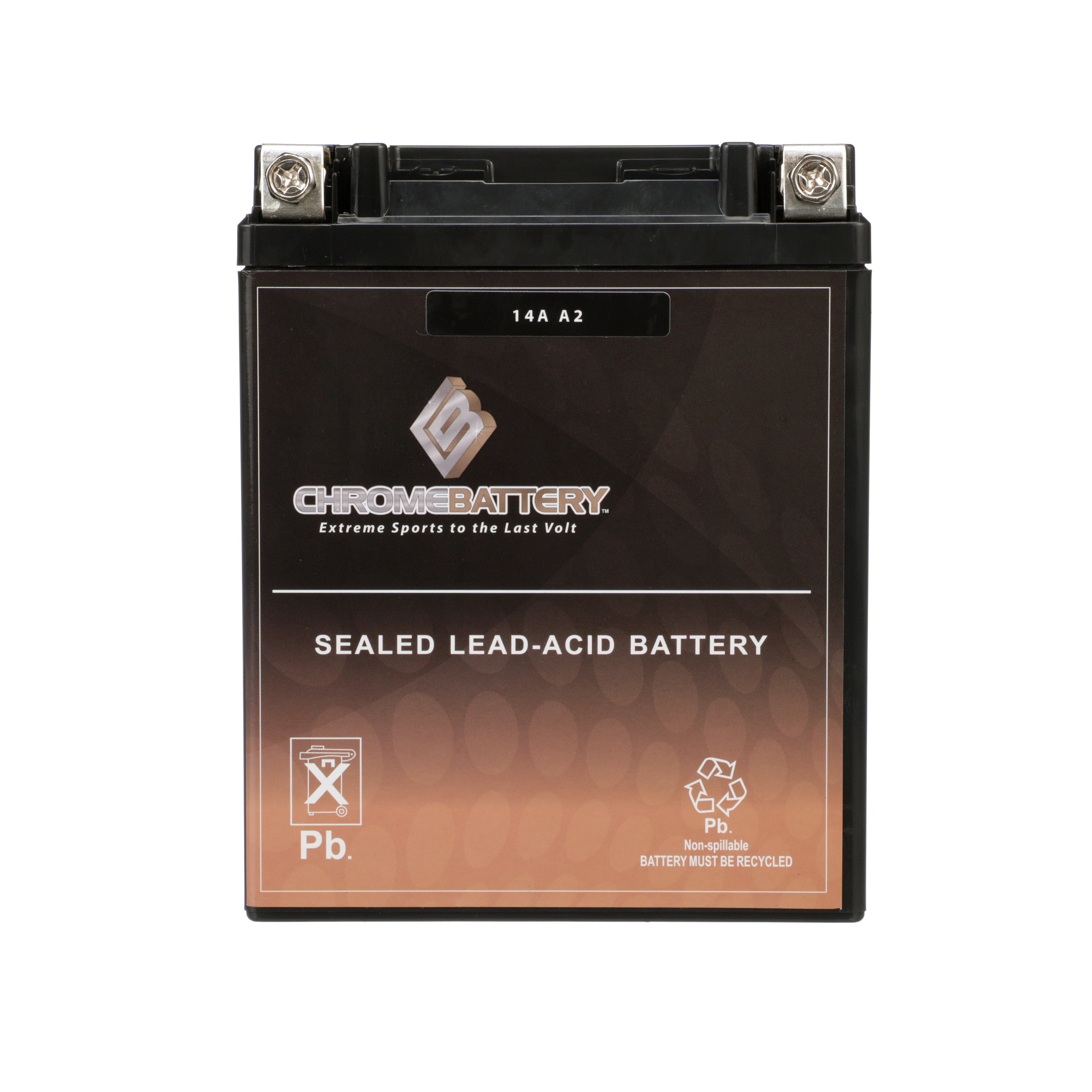 YB14A-A2 High Performance Maintenance Free AGM ATV Rechargeable Battery