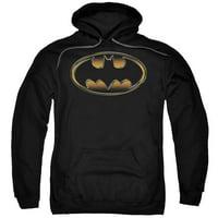 The Dark Knight Rises Spray Bat Mens Pullover Hoodie