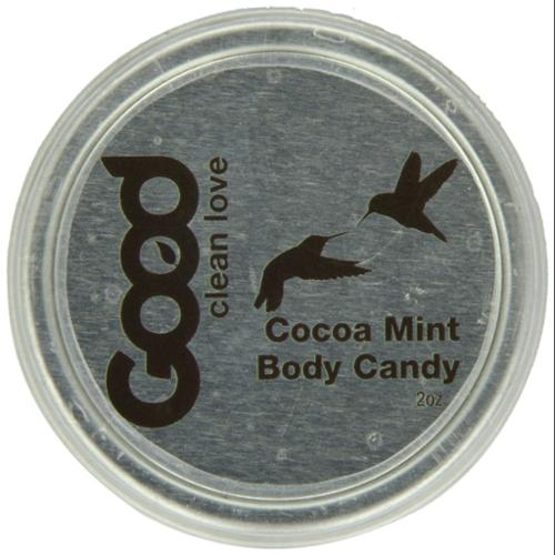 Good Clean Love: Cocoa Mint Body Candy, 2 oz