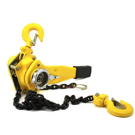 6Ton 10 ft Ratcheting Lever Block Chain Hoist Puller Lifter