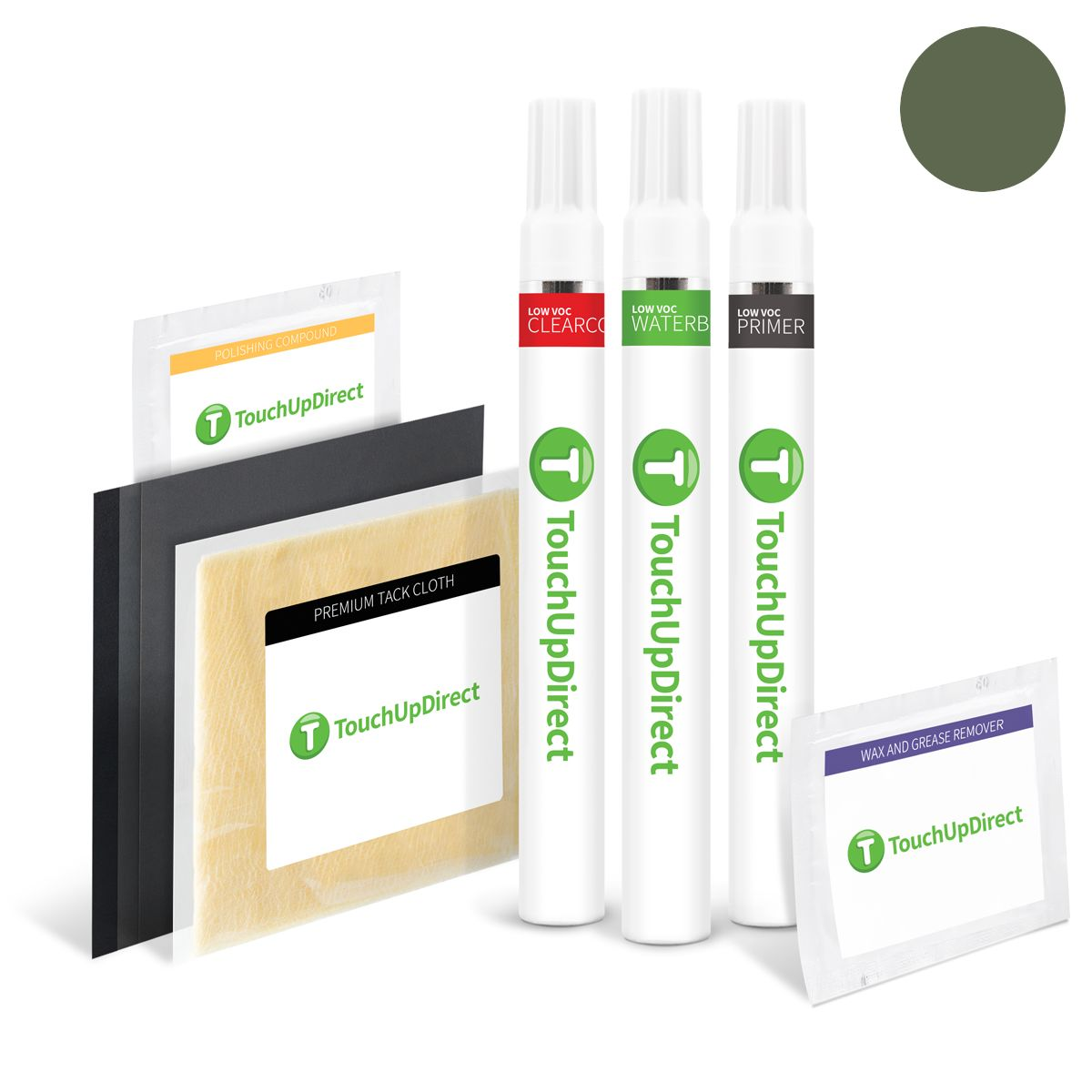 Jeep Jeep Green Effect Touch Up Paint (PGJ/EGJ)- Package