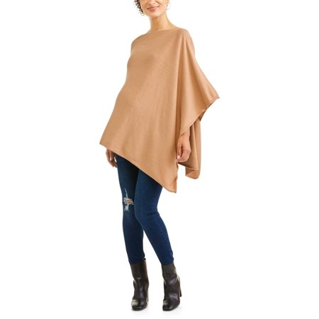 Maternity Versatile Sweater Poncho Nursing Coverup - Maternity Christmas Sweaters