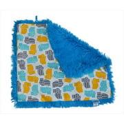 Tivoli Couture SLB 1103 Shag-e Lovie - Security Blanket, Happy Hippo - grey
