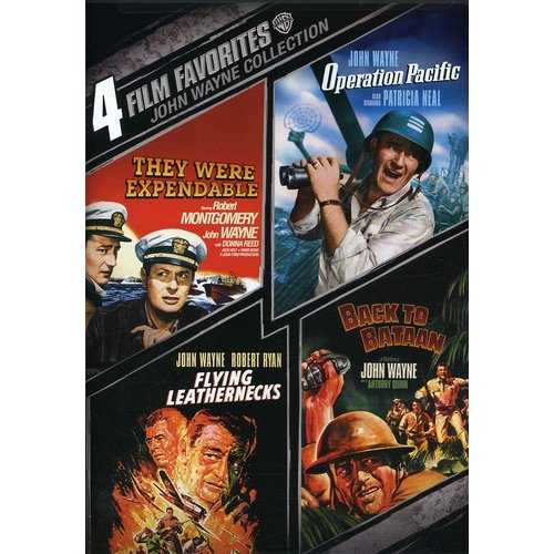 4 FILM FAVORITES-JOHN WAYNE WAR (DVD/2 DISC)