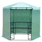 Best Greenhouse Kits - Outsunny 6.5' x 7.5' 3-Tier 10 Shelf Outdoor Review