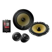 Pioneer TS-D1730C - D-Series - speaker - for car - 60 Watt - 2-way - component