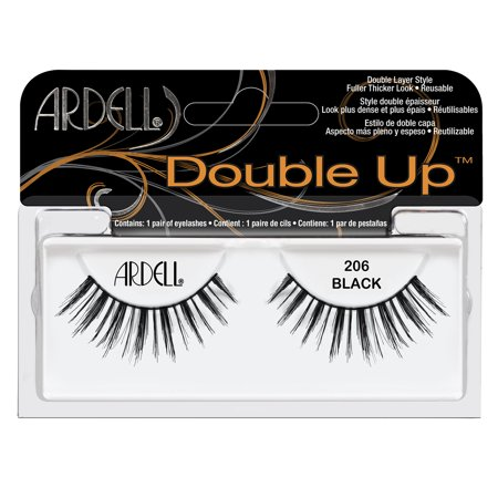 15a59411077 Ardell Double Up False Eyelashes, Black, 206, 1 Pair - Walmart.com