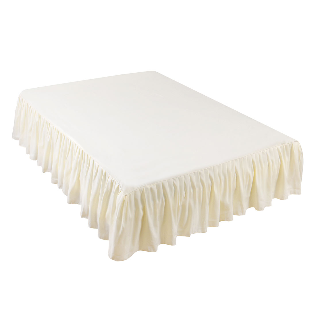 Bedding 14 Inch Drop Pleated Bed Skirt Dust Ruffle By Soft Essentials Home Furniture Diy Fischkom At