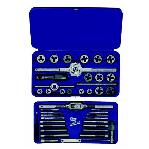 Irwin Metric Tap and Die Set, 41-Piece