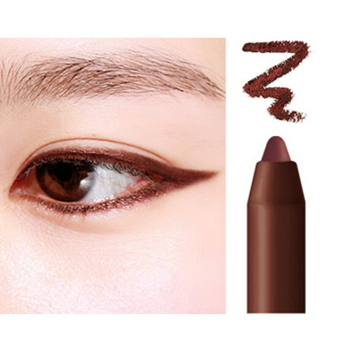 (6 Pack) BBIA Rose Last Auto Gel Eyeliner #R2 Rose Brown