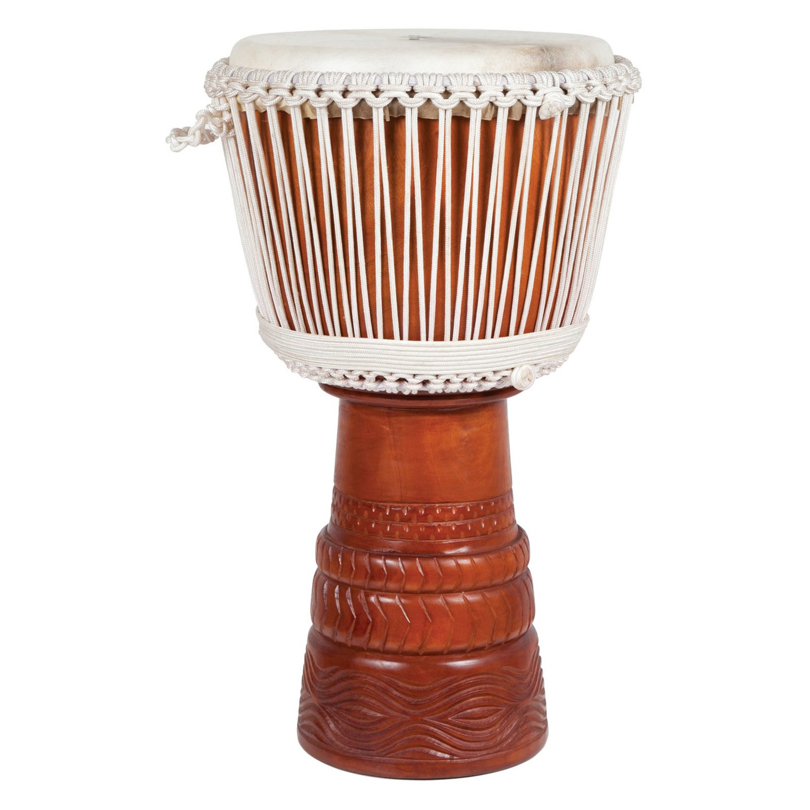 X8 Drums Elite Ivory Djembe Drum