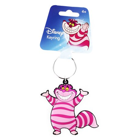 Alice In Wonderland Soft Touch PVC Key Ring: Chesire Cat