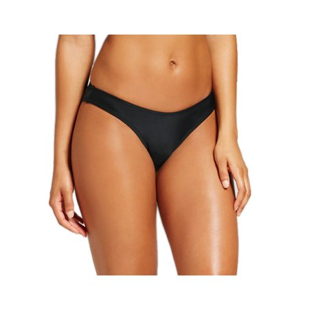 Xhilaration Women High Leg Scoop Waist Bikini (Best Looking Female Bottoms)