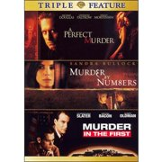 A Perfect Murder   Murder In The First   Murder By Numbers (Triple Feature) by TIME WARNER
