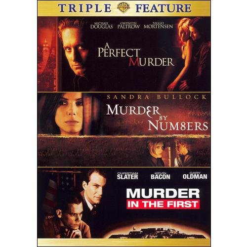 A Perfect Murder / Murder In The First / Murder By Numbers (Triple Feature)