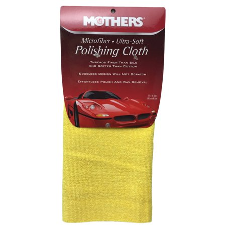 Mothers Ultra Soft Microfiber Detailing Polish Cloth - 16