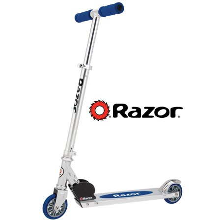 Razor Authentic A Kick Scooter - For Ages 5+ and Riders up to 143 Pounds (Scooter Wizard Lights)