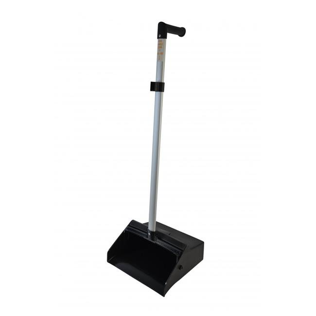 1185 CPC Lobby Dust Pan with Ergo Handle Aluminum & Black Hopper - image 1 of 1