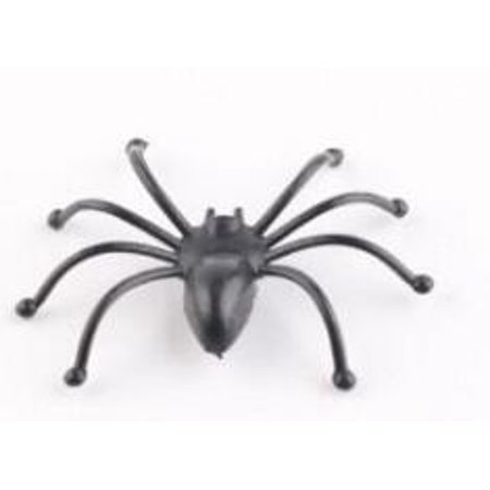 Halloween Decorations Stretchable Cobweb Halloween Party Ornament Spooky Spider Web with 24 Fake Spiders, Fit for Indoor and Outdoor - image 7 de 8