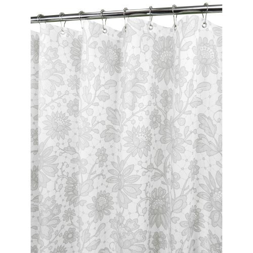 Watershed Floral Lace Shower Curtain
