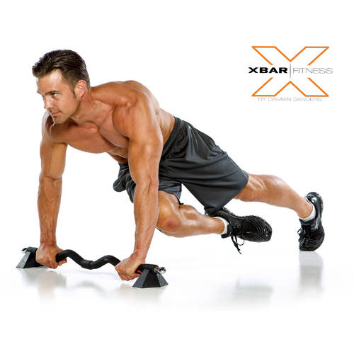 Xbar Portable Gym With Bodylastic Resistance Band Workout System Personal  Home And Office Gym Training Set