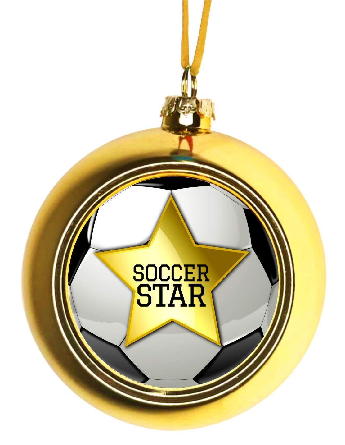 Soccer Christmas Ornaments - Ornament Christmas Décor ...