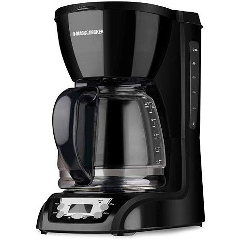 Black & Decker 12-Cup Programmable Coffeemaker, DLX1050B by Applica Consumer Products