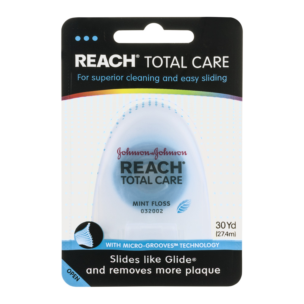 Reach Total Care Floss Mint, 1.0 CT