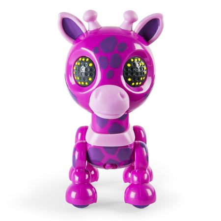 Sounds Giraffe - Zoomer Zupps Safari, Gigi - Interactive Giraffe with Lights, Sounds and Sensors, Walmart Exclusive