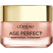 L'Oreal Paris Rosy Tone Moisturizer for Mature, Dull Skin, Age Perfect, 1.7 oz.