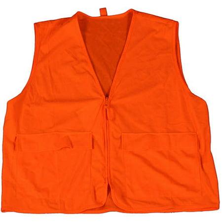 Deer Camp Vest, Blaze Orange, Medium (Gamehide Camo)