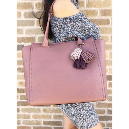 NWT Kate Spade Palmer Drive Malika Large Tote Bag Nutmeg Pink Multicolor - Pink Kate Spade