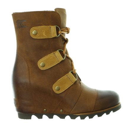 3b16ca6be5c2 Sorel - Sorel Joan of Arctic Wedge Mid High Bootie Lace Up Boot Shoe -  Womens - Walmart.com