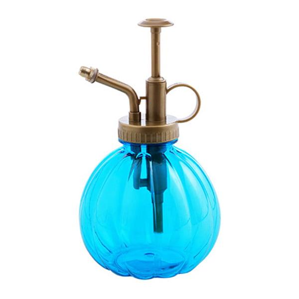 Retro Pumpkin Shape Glass Watering Pot Plant Flower Bottle Garden Hand Pressure Sprayer New
