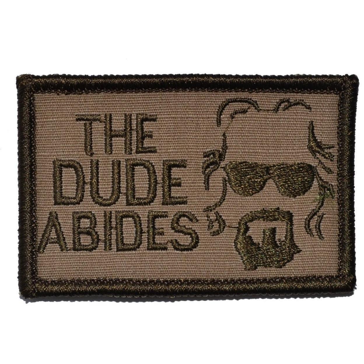 The Dude Abides, The Big Lebowski - 2x3 Patch