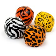 "Animal 2"" Ball (12 Count) - Party Supplies"