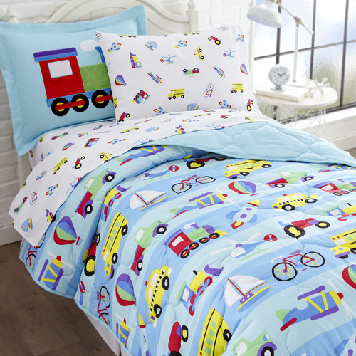 Olive Kids On the Go 5-Piece Bed in a Bag Bedding Set