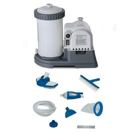 Intex 2500 Gph Gcfi Pool Filter Pump With Timer 633t