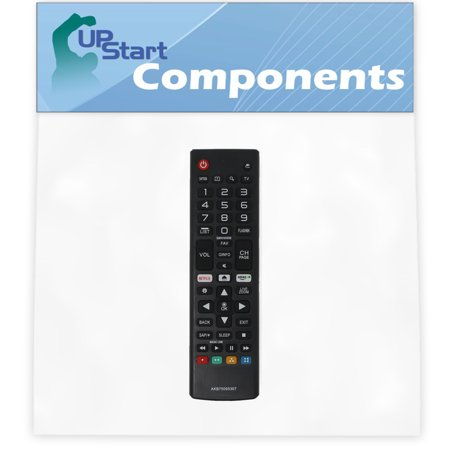 2 Pack Replacement LG AKB75095307 TV Remote Control for LG 75UJ6450-UD Television - image 2 of 4