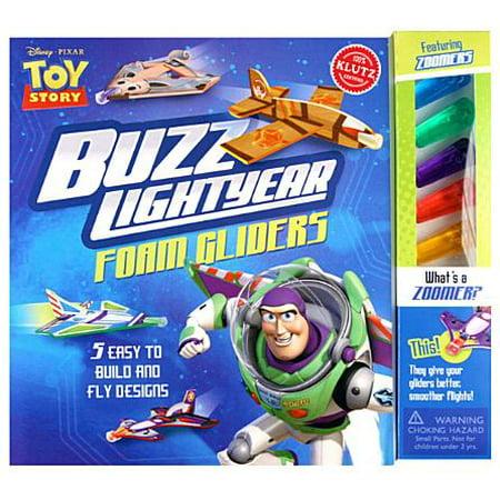 Buzz Lightyear Foam Gliders (Disney Pixar Toy Story) : Simple-To