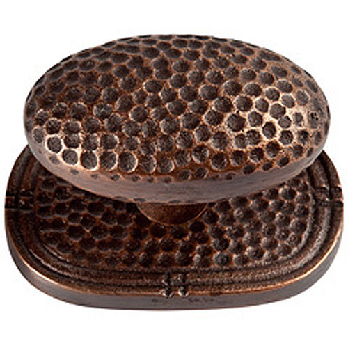 Barclay Cast Copper Large Oval Backplate