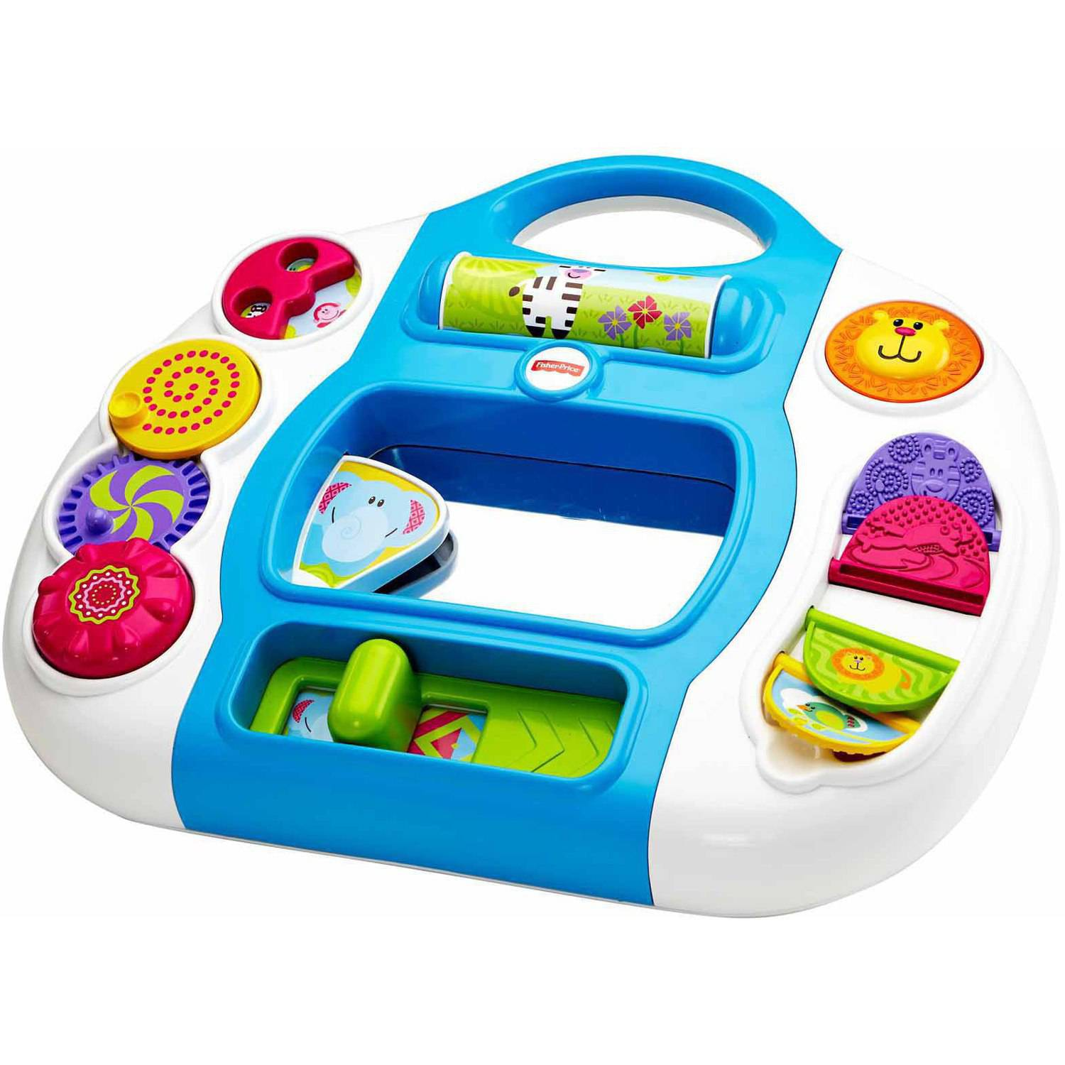 Fisher Price Growing Baby Animal Activity Panel - Walmart.com
